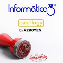 INFORMÀTICA3: Software Certificado por Cashlogy by AZKOYEN